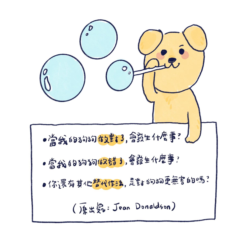 狗狗訓練透明化挑戰的插圖