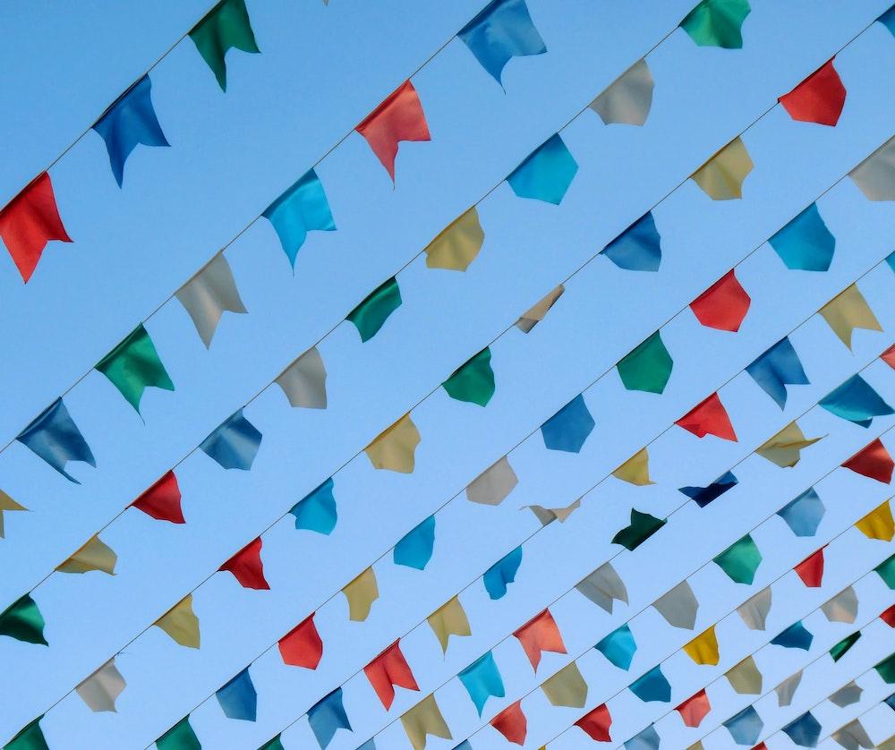 園遊會掛旗